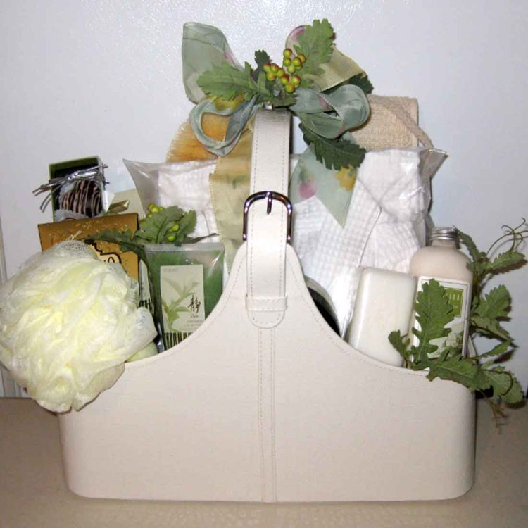 Indulge Spa gift basket