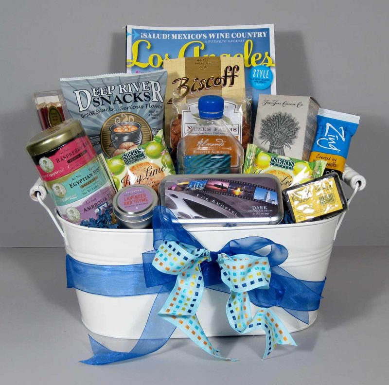 West Hollywood gift basket